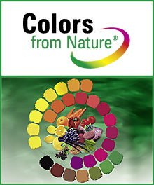 Natural food coloring - Colors from Nature ® | Wild
